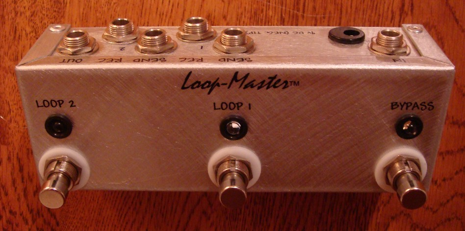 2 Looper w/Master Bypass (Mini Strip)